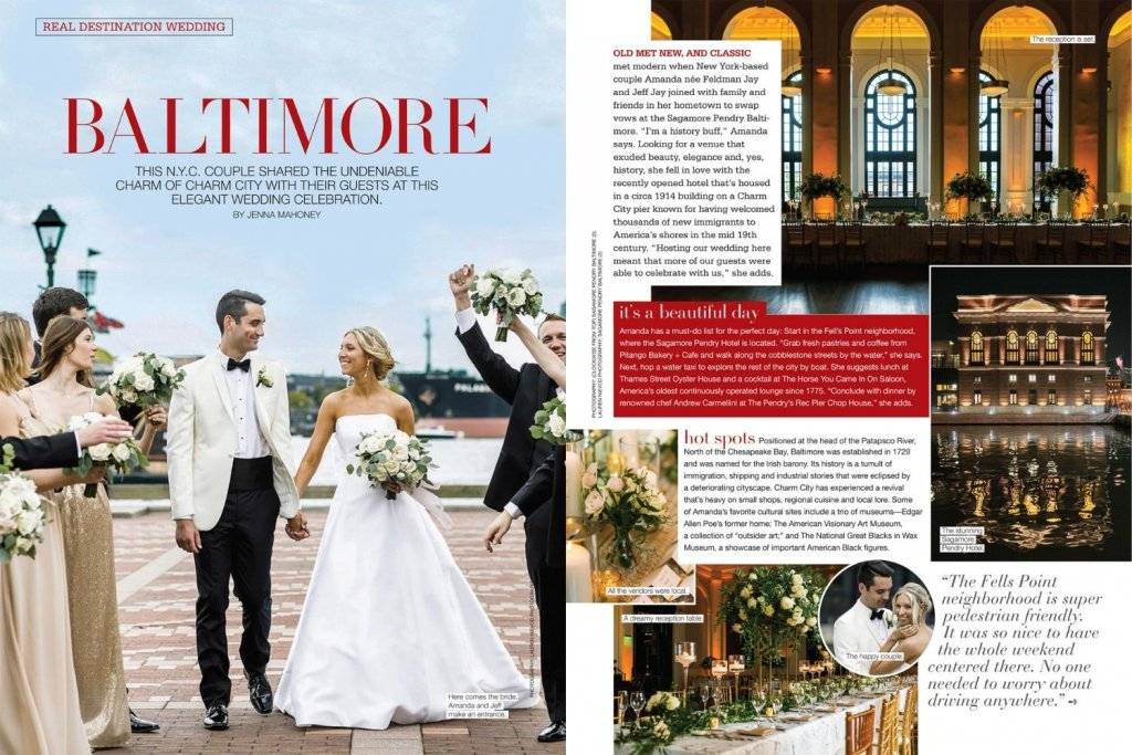 bridal guide january february issue baltimore