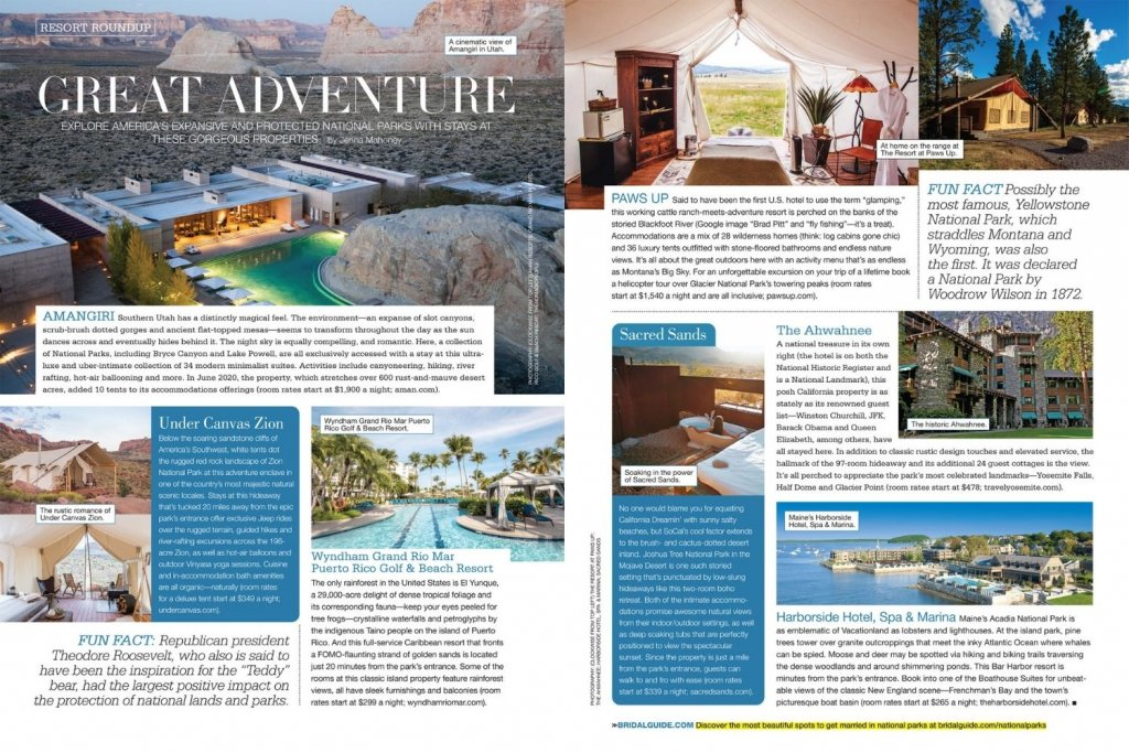 bridal guide january february issue great adventure