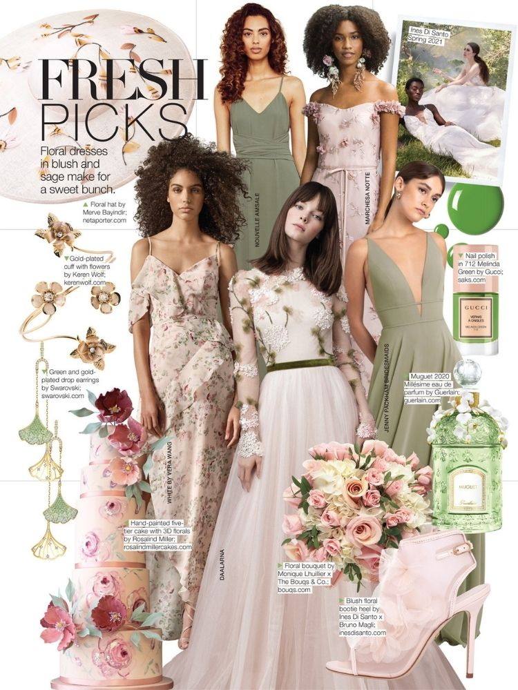 bridal guide january february issue spring dresses