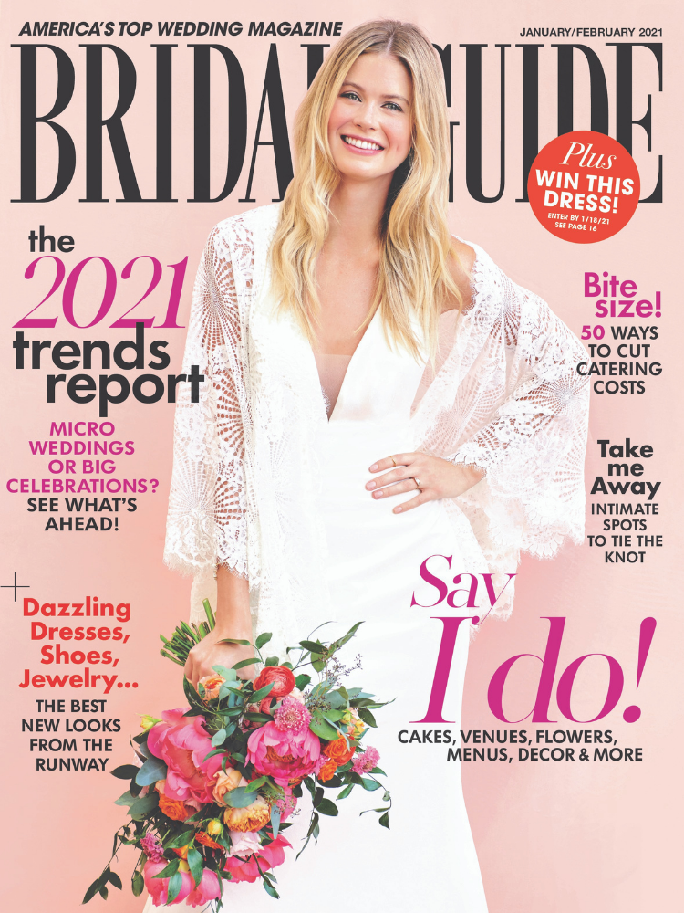 bridal guide january february 2021 issue
