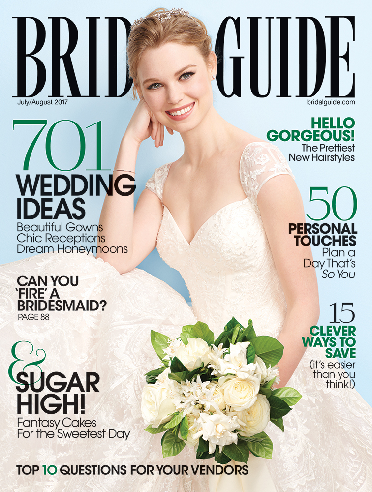 bridal guide july august 2017