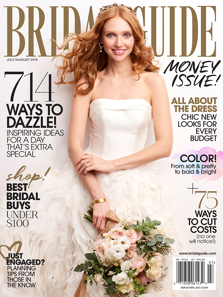 bridal guide july august 2018