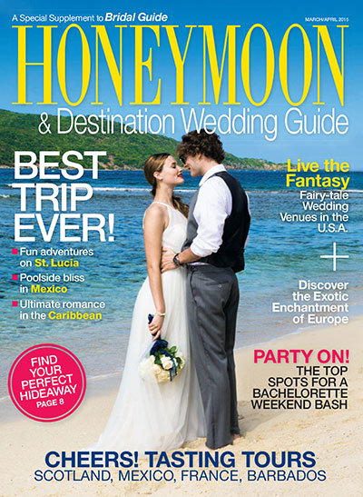 bridal guide march april 2015 honeymoon guide