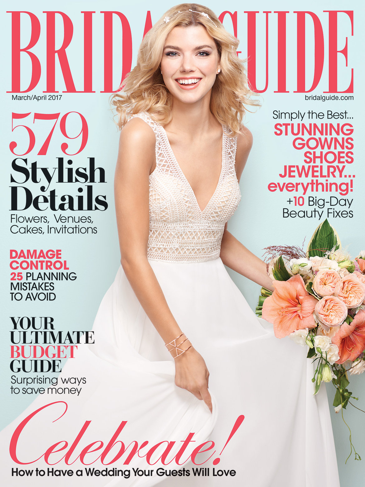Bridal Guide March April 2017 Cover