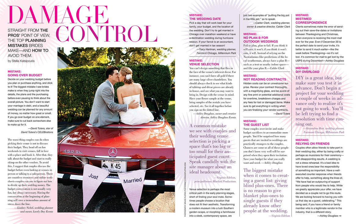 Inside The New Issue Bridalguide