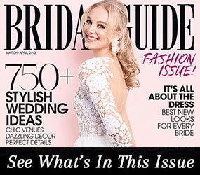 Bridal Guide March April 2019 Cover