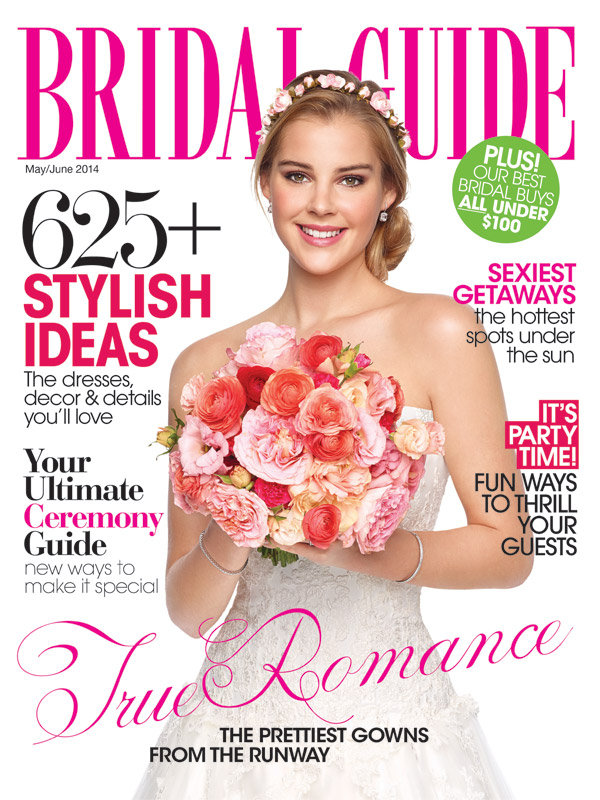 bridal guide may june 2014 cover