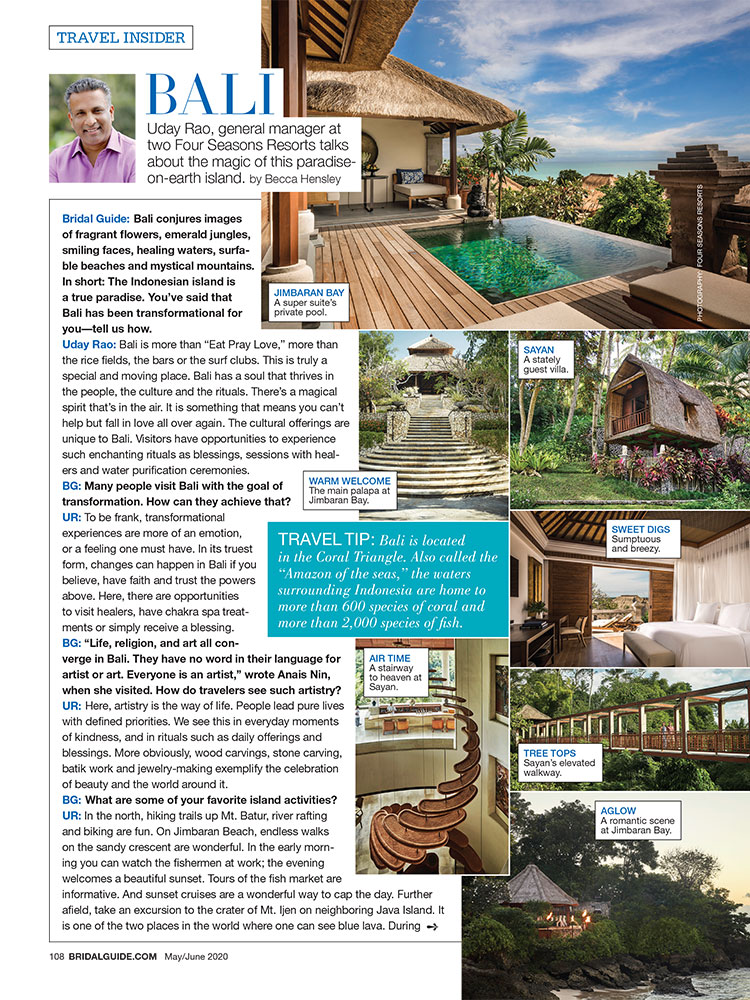 Bali Bridal Guide May June 2020