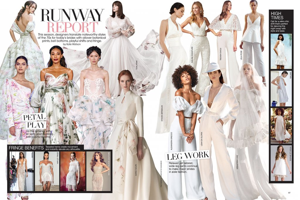 Runway Report Bridal Guide May June 2020