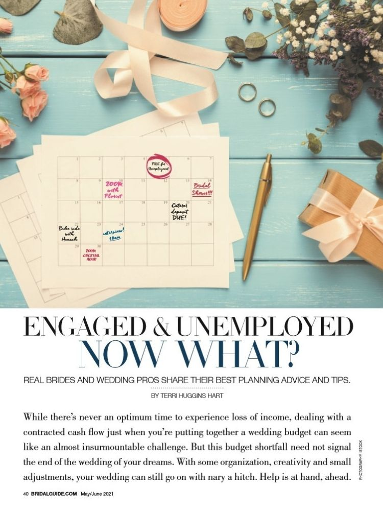 bridal guide engaged and unemployed