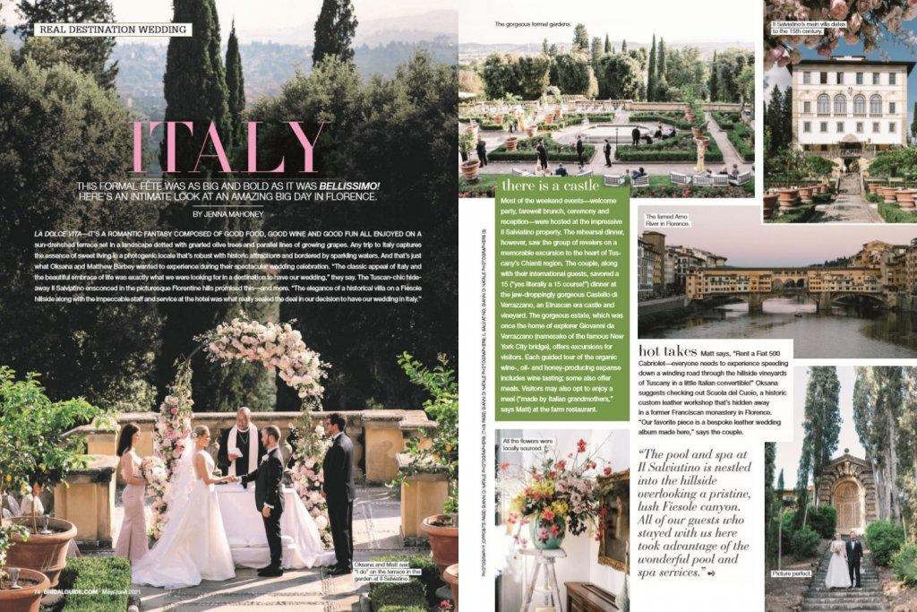 bridal guide italy wedding
