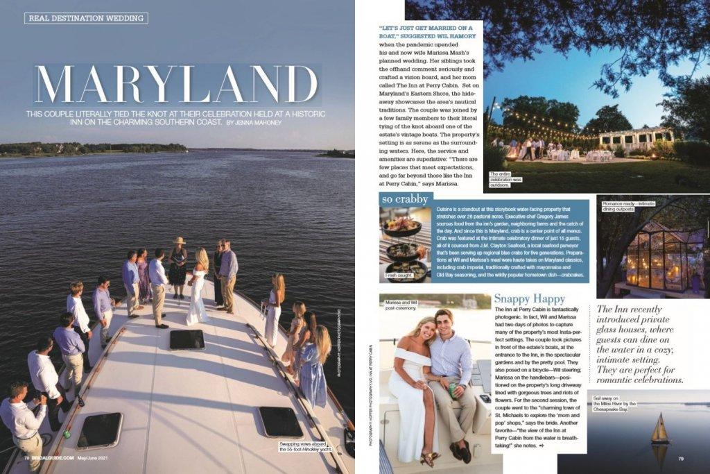 bridal guide maryland wedding