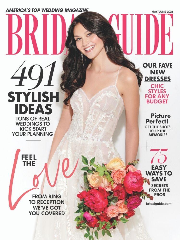 bridal guide may june 2021 cover