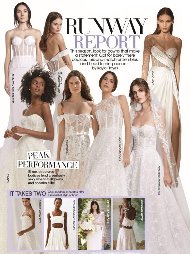 bridal guide runway report