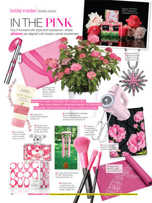 pink products to support BCA month