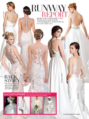 bridal guide november december 2013 runway report