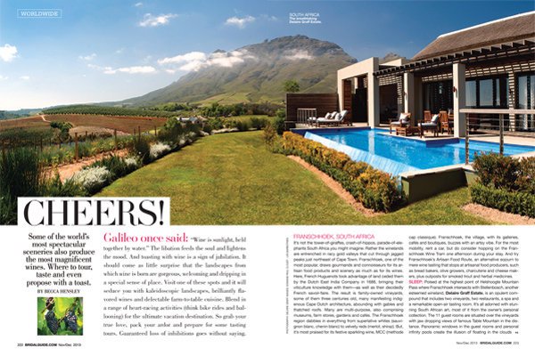 cheers places to go for honeymoon bridal guide november december 2013