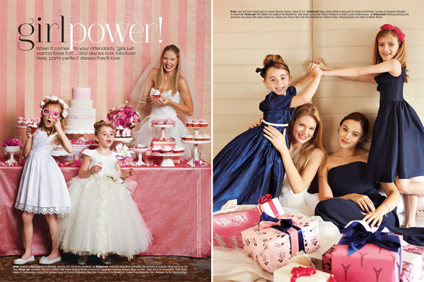 dresses for flower girls and junior bridesmaids