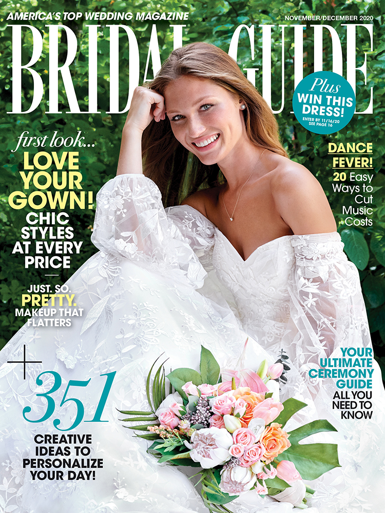 Bridal Guide November December 2020 cover