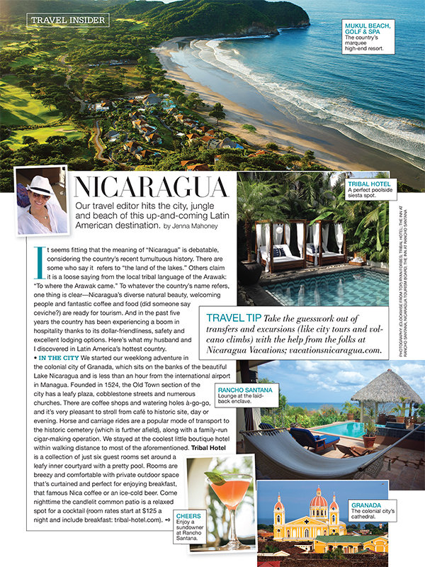Bridal Guide, Sept-Oct 2015 Issue | Nicaragua Vacations