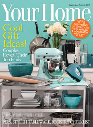 bridal guide september october your home cover