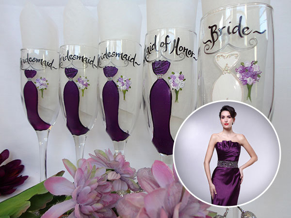 Personalized gifts one of a kind illustrations bridalguide