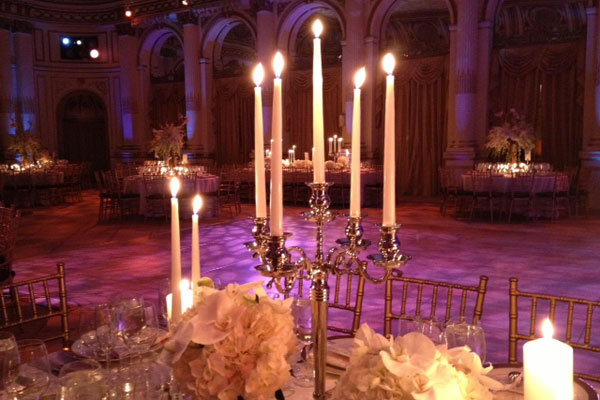 wedding candelabra centerpiece