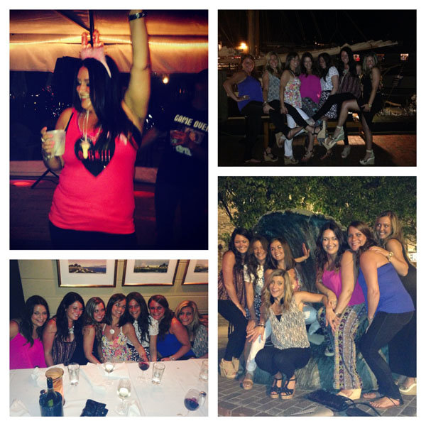 bachelorette bash photo collage 2