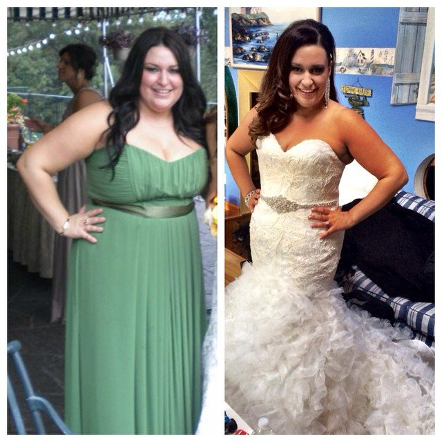 Wedding Weight Loss Before And After