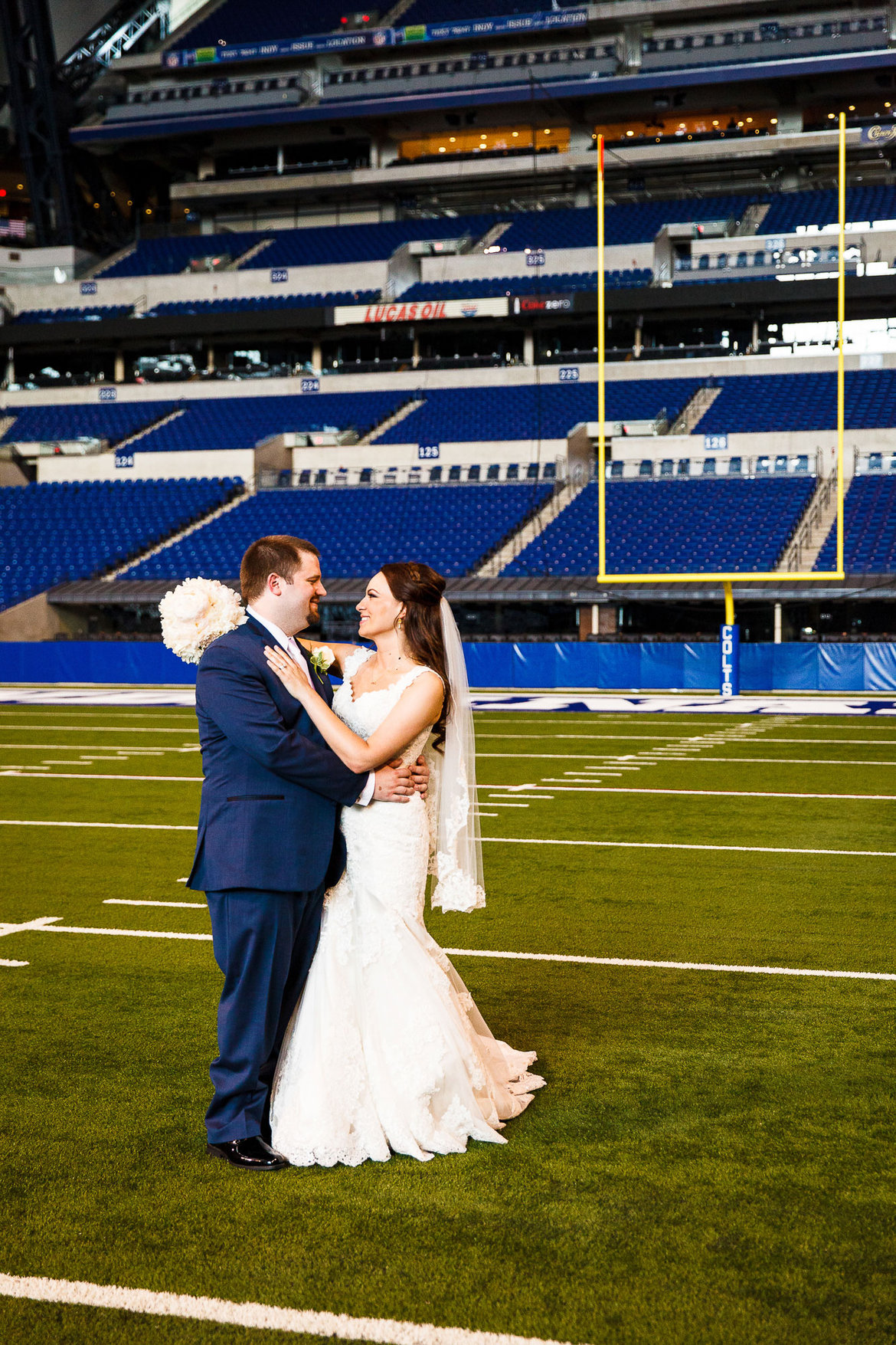 football wedding