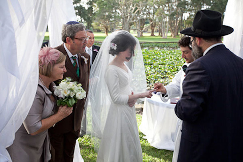 Once The Ceremony Ends Though Most Jewish Brides Move Wedding Ring Over To More Well Known Finger