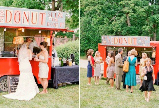 donut theme wedding