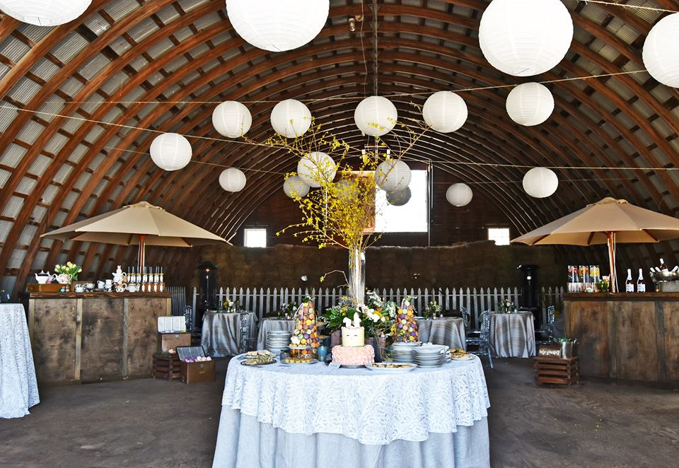barn wedding fell stone manor