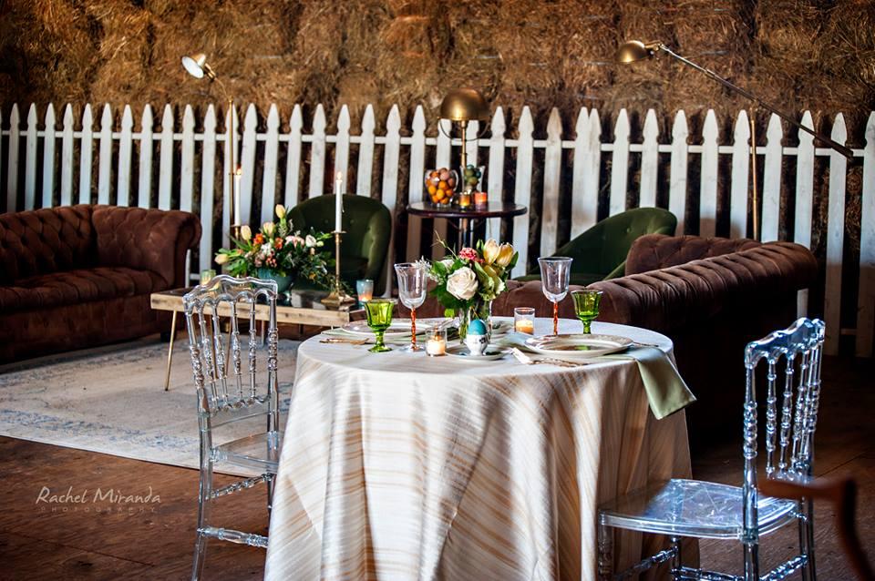 easter wedding table decor