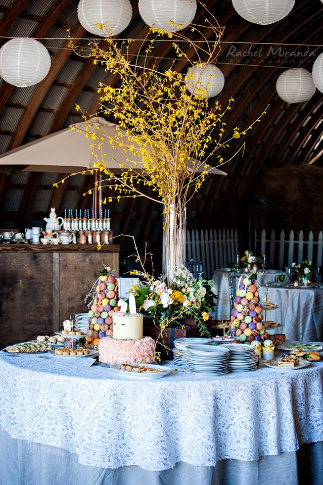 fell stone manor wedding brunch
