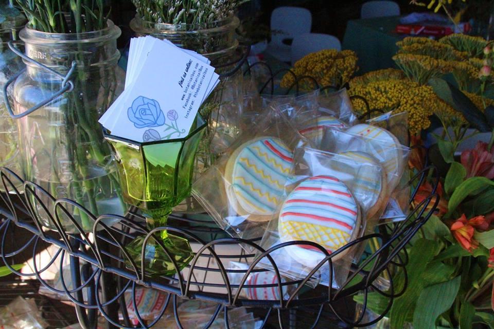 easter cookies wedding favor