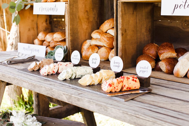 blog unique food display ideas