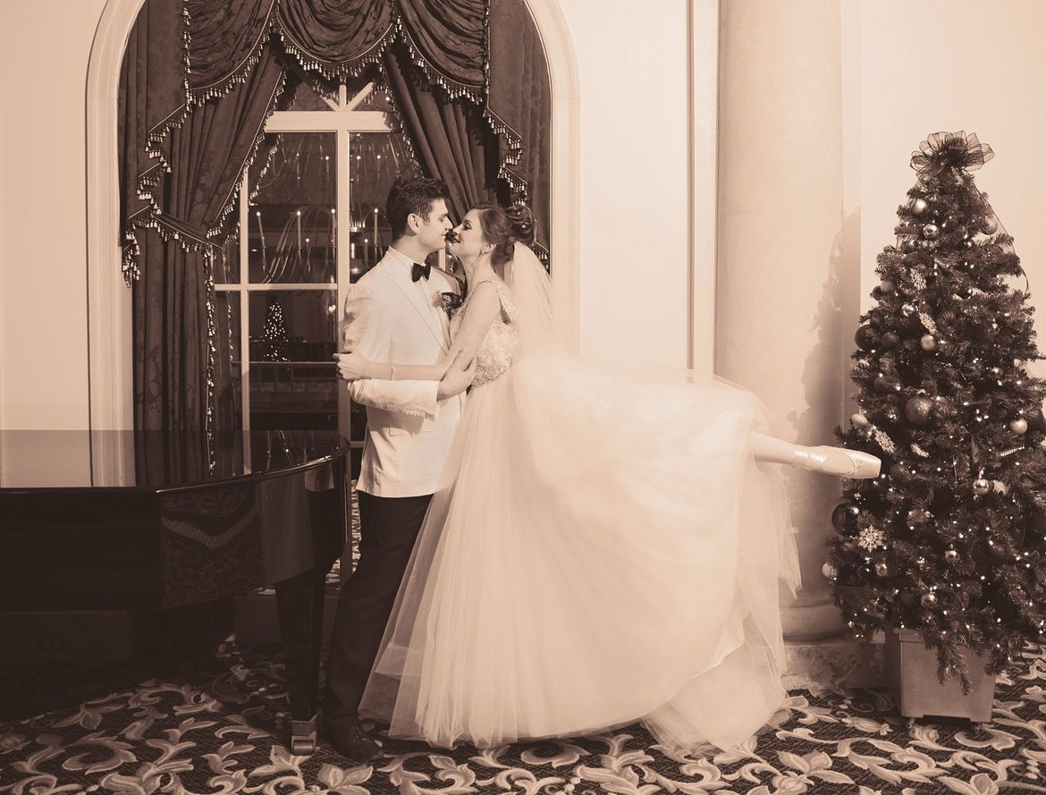 nutcracker christmas theme wedding inspiration