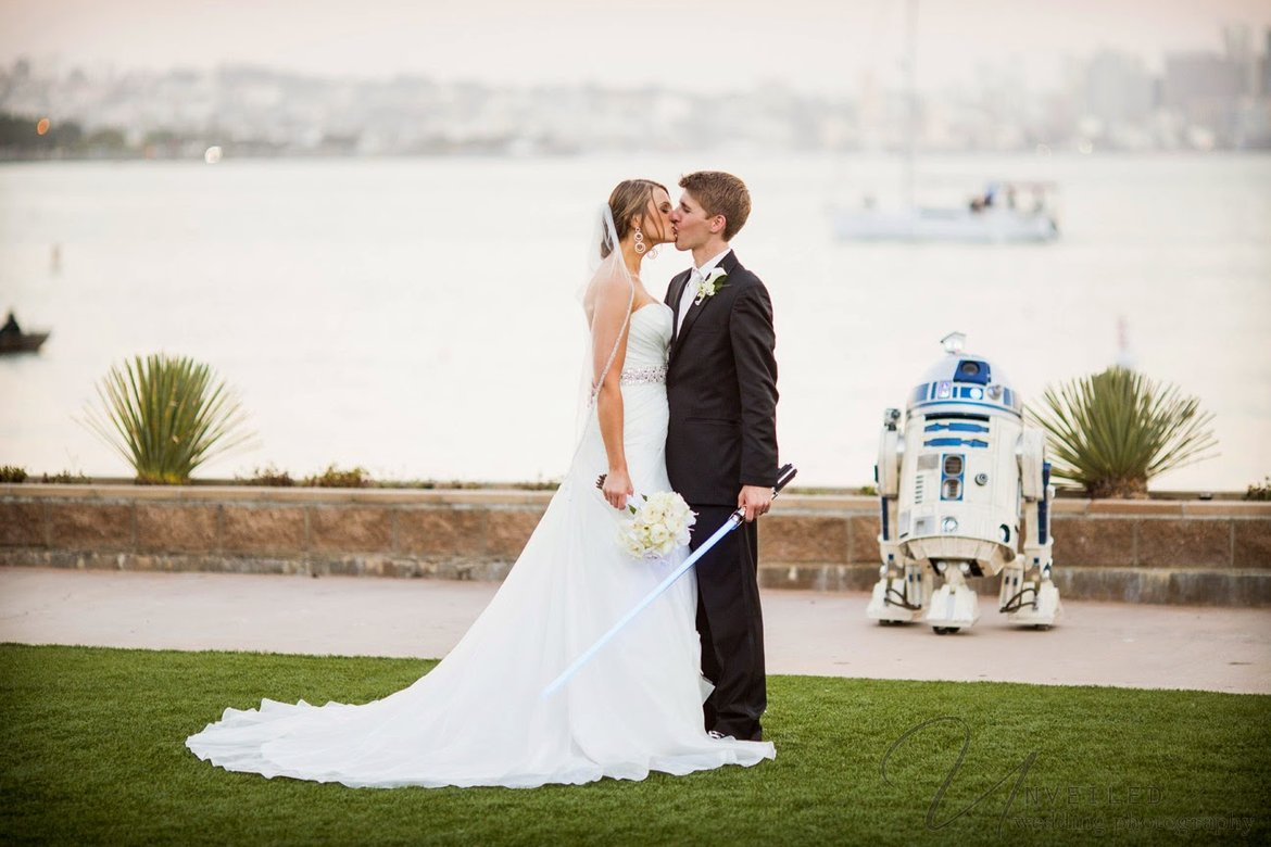 An Epic Star Wars-Themed Wedding | BridalGuide