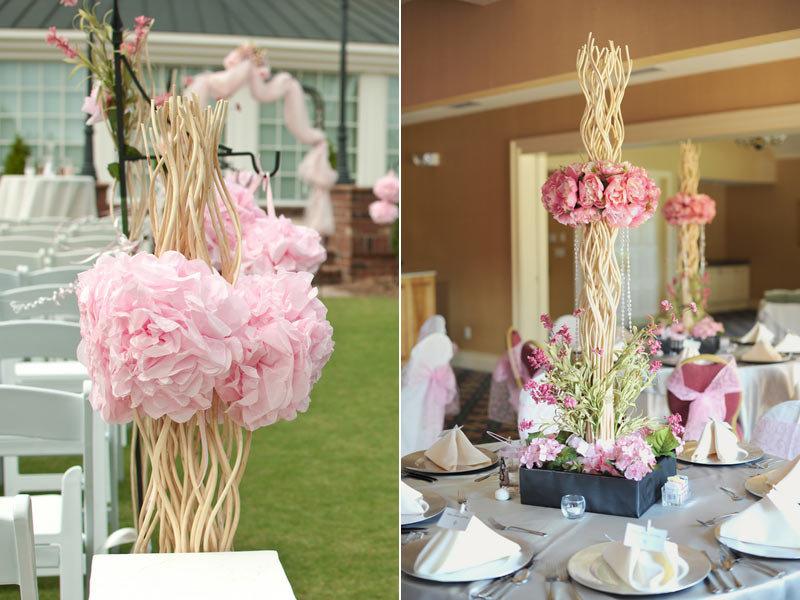 15 wedding ideas were loving for 2015 bridalguide reusing ceremony decor in the reception junglespirit Choice Image