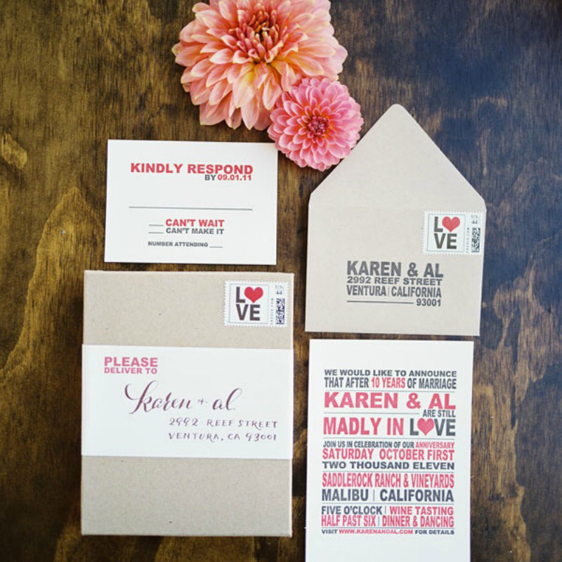 5 Things You Need To Know About Mailing Your Wedding Invitations