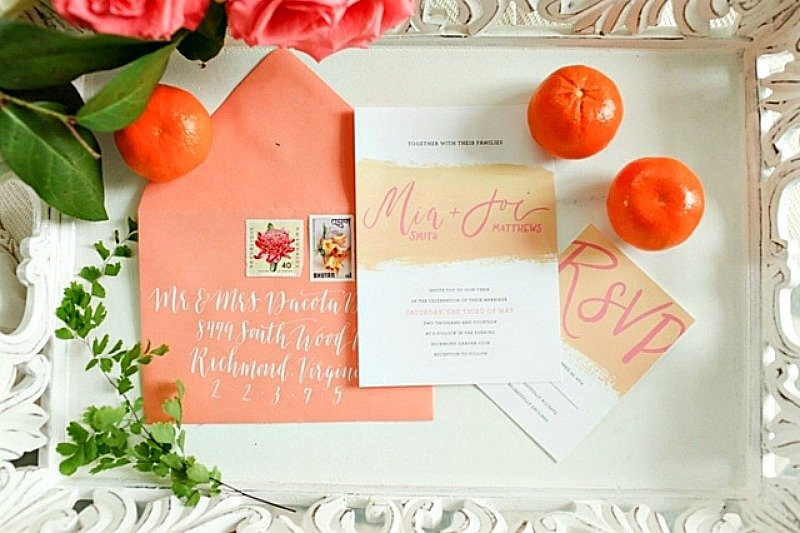 wedding invitation - When To Mail Wedding Invitations