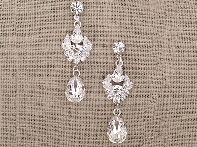 bel aire bridal earrings
