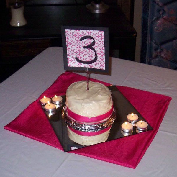 cake table number