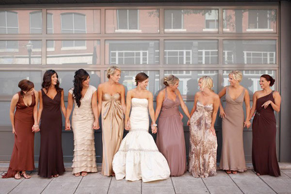ca4d2b96a16 bridesmaid dresses. Photo Credit  Todd Pellowe via Great Expectations