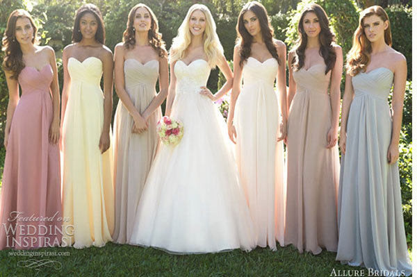 40ea56bd5ee Top 5 Bridesmaid Dress Trends