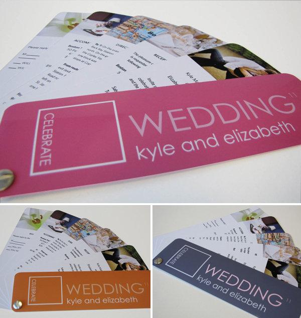 15 Creative Wedding Program Ideas BridalGuide