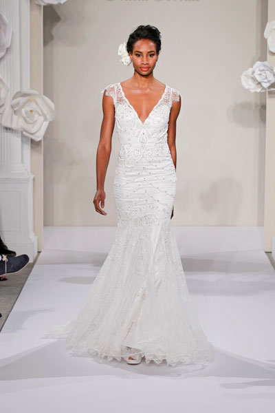 pnina tornai lace gown