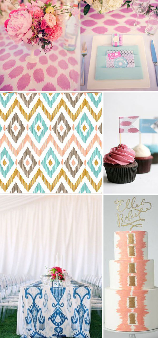 ikat wedding ideas