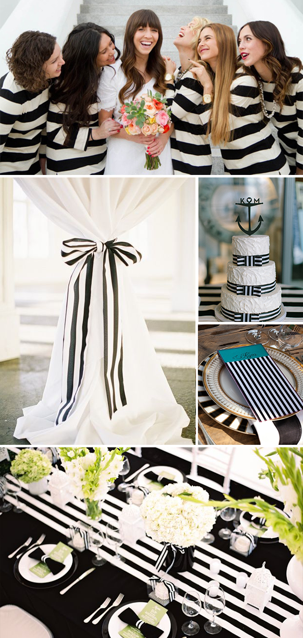 stripes wedding ideas